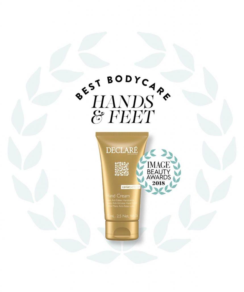 Declare Caviar Perfection Handcreme wint Image Beauty Award 2018