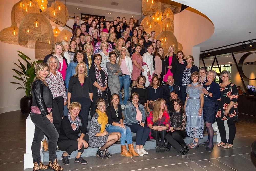 Groepsfoto La Valois Cosmetique Event 2018