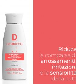 Lenaderma Barrier Lenitive Cream (face & body), emulsie, 400 ml